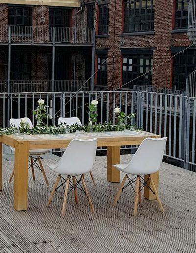 Blumenschmuck passend zur Location